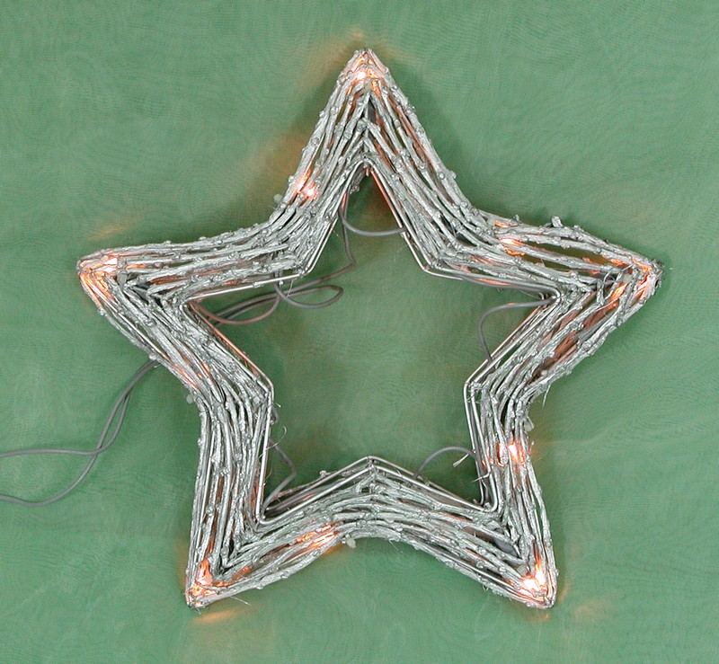 made in china  FY-06-008 cheap christmas star rattan light bulb lamp  factory