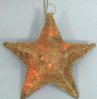 manufacturer In China FY-06-011 cheap christmas star rattan light bulb lamp  company