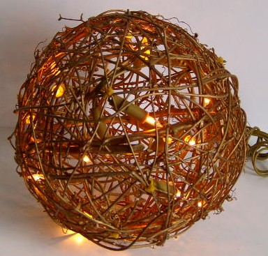 made in china  FY-06-018 cheap christmas rattan big ball light bulb lamp  company