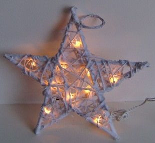 manufacturer In China FY-06-020 cheap christmas star rattan light bulb lamp  company