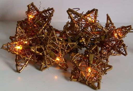 made in china  FY-06-036 cheap christmas small star rattan light bulb lamp  distributor