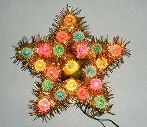 manufacturer In China cheap christmas tree top plastic frame light bulb lamp  factory